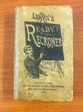 1913 LEARY'S READY RECKONER FORM BOOK & WAGES CALCULATOR