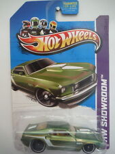 2013 Hot Wheels 232/250 Muscle Mania '69 Ford Mustang - Green