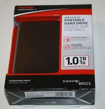 BRAND NEW Toshiba Canvio Basics 1TB USB 3.0 Portable Hard Drive (HDTB310XK3AA)
