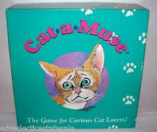 Ri-Cher Enterprises ©1992 CAT- A - MUSE Game For Curious Cat Lovers!  COMPLETE