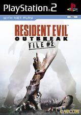 RESIDENT EVIL OUTBREAK FILE 2 SONY PS2