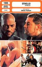 FICHE CINEMA : OTHELLO - Fishburne,Branagh,Jacob,Parker 1995