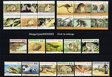 1992 1993 1994Australia Threatened Species Wildlife Native Animal Koala Kangaroo