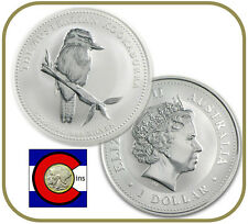 2005 Australia Kookaburra 1 oz. Silver Coin - BU direct from Perth Mint roll