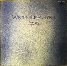 Konstantin  Wecker  -  WeckerLeuchten  - LP - RAR -  washed - cleaned - L4659