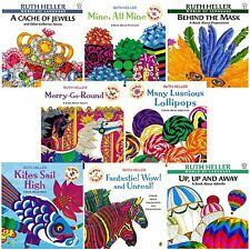 Explore Language 8 Bk Set Ruth Heller Merry Go Round -nouns Kites Sail -verbs+