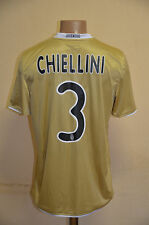 JUVENTUS ITALY 2008/2009 AWAY FOOTBALL SHIRT JERSEY MAGLIA NIKE #3 CHIELLINI