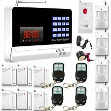 2016 APP Control Touch keypad Wireless GSM SMS Home House Security Alarm System