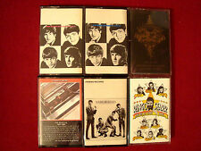 THE BEATLES 1962/66 VOL. 1&2 RARE BEATLES RINGO STARR KEITH RICHARDS 6 CASSETTES