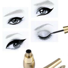Dual-use Women Waterproof Eyeliner Liquid+Eye Liner Pencil Pen Beauty Cosmetic