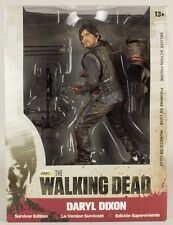 "The Walking Dead Daryl Dixon Bloody Survivor Edition 10"" Deluxe Figure TV Series"