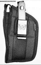NEW Gun Holster For GLOCK 17, 19, 22, 20, 21, 31, 33 With Tac. Light/Laser