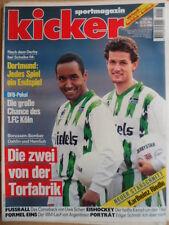KICKER 30 - 10.4. 1995 * Dahlin Herrlich Schalke-BVB Bremen-1860 2:0 E.Schmitt