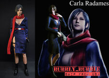 1/6 Carla Radames Ada Wong Resident Evil Dress Set For Hot Toys SHIP FROM USA