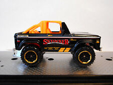 MATCHBOX '72 1972 FORD BRONCO 4X4 SKYJACKER SUSPENSIONS BLACK 2015-LOOSE