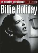 11257 // BILLIE HOLIDAY -UN MUSICIEN UNE HISTOIRE 1 CD + 1 LIVRE BIOGRAPHIE