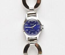 Avia orologio braccialetto per lady, meccanico manuale Quadrante blue, anni '70