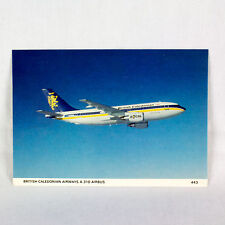 British Caledonian - Airbus A310 - Aircraft Postcard - Top Quality