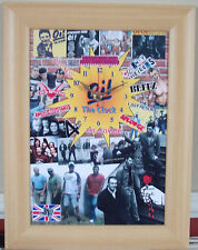 Oi! The Clock Features 4 Skins/Splodge/Rejects Skinhead/Punk/Herbert/Ska