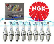 8 NGK LASER PLATINUM SPARK PLUGS BMW V8 4.4L 4.6L 5.0L N62 M62 S62 E38 E39 E65