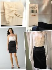 Max & Cleo Ivory And Black Cocktail Dress Size 12