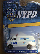 Greenlight  NYPD  77' Chevrolet Emergency Service Van New York City Police Dept.