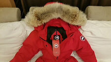 2017 LATEST CONCEPT EDITION RED LABEL RED CANADA GOOSE TRILLIUM SM PARKA JACKET