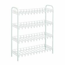 Wire World 12-Pair Shoe Rack, White , New, Free Shipping