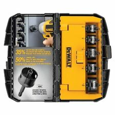 DEWALT 5-Piece Impact Ready Hole Saw Set D1800IR5