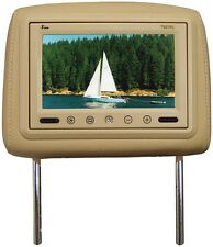 "Tview T921PLTAN 9"" TFT LCD Monitor In Headrest Ir Trans Tan"