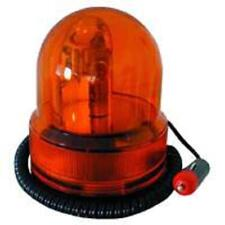 GYROPHARE MAGNETIQUE ORANGE 12V ALLUME CIGARE VOITURE CHANTIER TRAVAUX
