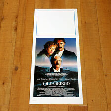 OLD GRINGO locandina poster Jane Fonda Gregory Peck Jimmy Smits Western