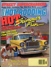 Popular Hot Rodding Magazine August 1989 Holley Pro-Jection EX 010516jhe