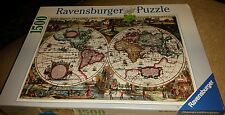 Historic World Map 1636 1500pc Jigsaw Puzzle by Ravensburger - New Sealed 16211