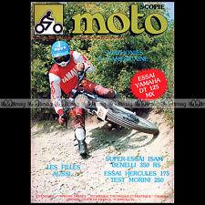 MOTOSCOPIE N°4 ★ YAMAHA 125 DTMX ★ BENELLI 350 RS HERCULES 175 JACK FINDLAY 1977