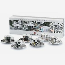 illy collection 6er Set Cappuccinotassen Tobias Rehberger