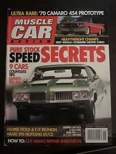 Muscle Car Review Magazine January 2008 Pure Stock Speed Secrets No Label (AA)