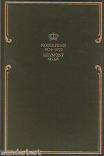 *- Nobelpreis für LITERATUR 1924-1925 - REYMONT / Shaw  gebunden