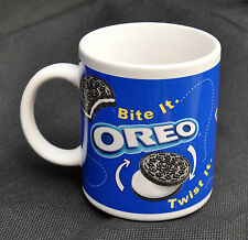 Oreo Coffee Mug Bite It Twist It Lick It Drunk It How to Eat Cookie 31449 Milk