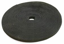 """1"""" Roll Hook & Loop Reusable Cable Ties Wraps Straps 5M 15ft"""