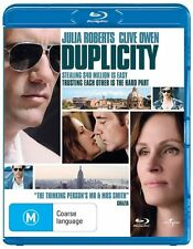 DUPLICITY Julia Roberts / Clive Owen Blu-Ray DISC - New