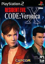 Resident Evil - CODE: Veronica X  (Sony PlayStation 2)