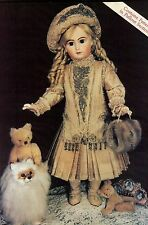 "29""ANTIQUE FRENCH ARIELLE JUMEAU/BRU DOLL BEADED DRESS/SKIRT&JACKET&HAT PATTERN"