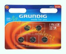 5 x PILES BOUTON CR1620 CR 1620 LITHIUM PLATE GRUNDIG 3V  8-2018 - PAS CHER -