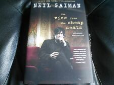 NEIL GAIMAN SIGNED - VIEW FROM THE CHEAP SEATS - FIRST LIMITED EDITION HARDCOVER