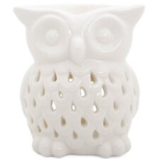 WHITE OWL OIL BURNER ceramic aromatherapy snowy fragrance tea light lover BOXED