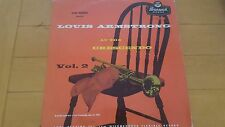 Louis Armstrong at the Crescendo Vol 2 LP 1955 Brunswick