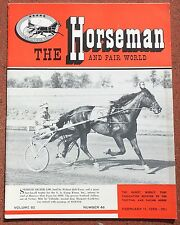 2-11-59 The Horesman and Fair World Magazine Harness Racing Sulky Horse Trotter