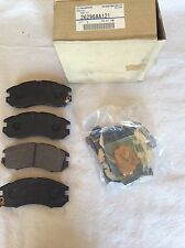 GENUINE SUBARU FORESTER LEGACY IMPREZA FRONT BRAKE PAD KIT