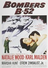 BOMBERS B-52 New Sealed DVD Natalie Wood Efrem Zimbalist Jr Karl Malden